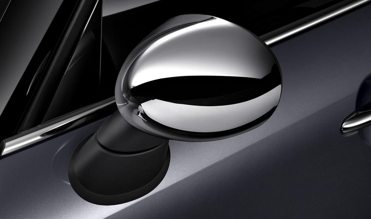 Mini Genuine Left Passenger Side Ns Wing Mirror Cover Chrome 51167376271 Ebay